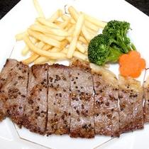 国産和牛をステーキでどうぞ彡
