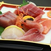◇新鮮な日本海の幸のお刺身6点盛り