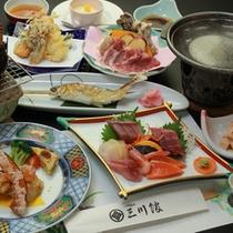 ◇【-momo桃-】プランお食事一例