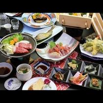 桜-sakura-は和牛ステーキ&御造り5点盛りの贅沢コース