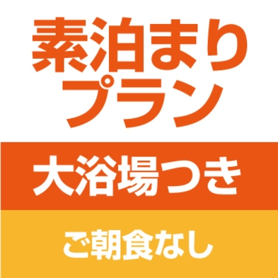 【秋冬旅セール】素泊まりプラン【大浴場利用可能】【朝食無し】【GO東海】