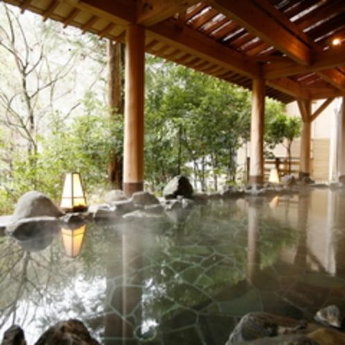 【鶴仙】渓流野天風呂