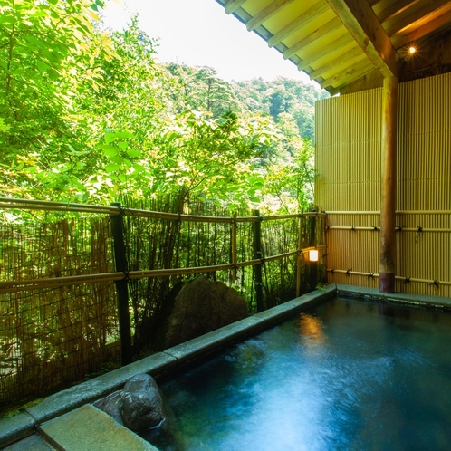 【河鹿】渓流露天風呂