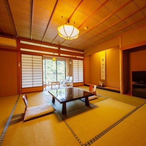 【川側のお部屋】鶴仙渓に面した純和風客室