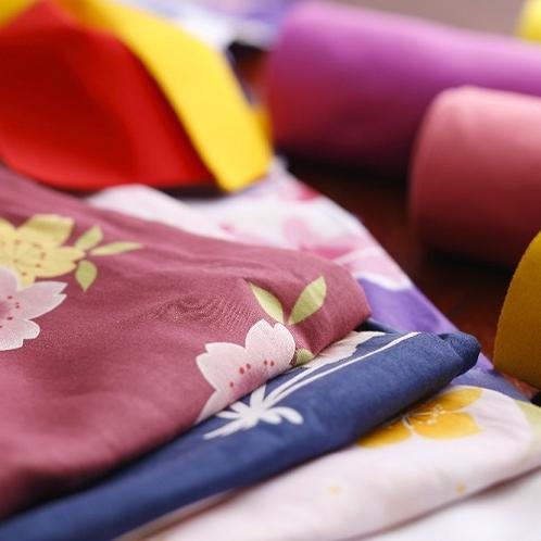 【色浴衣】彩り溢れる浴衣たち