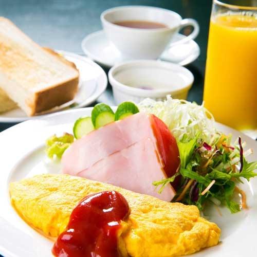 ジャズが流れる優雅な空間で楽しむ洋朝食