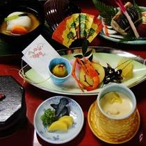 東京ではなかなか食べる事の出来ない、香川定番の「あん餅雑煮」付のお正月限定朝食