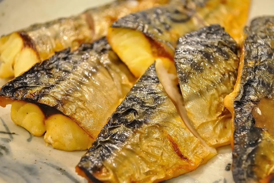 この日は鯖の焼き物がありました