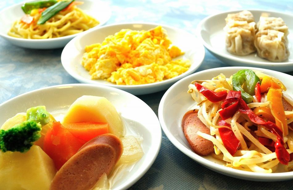 ある日の日替わり朝食メニュー