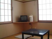 2面窓の部屋