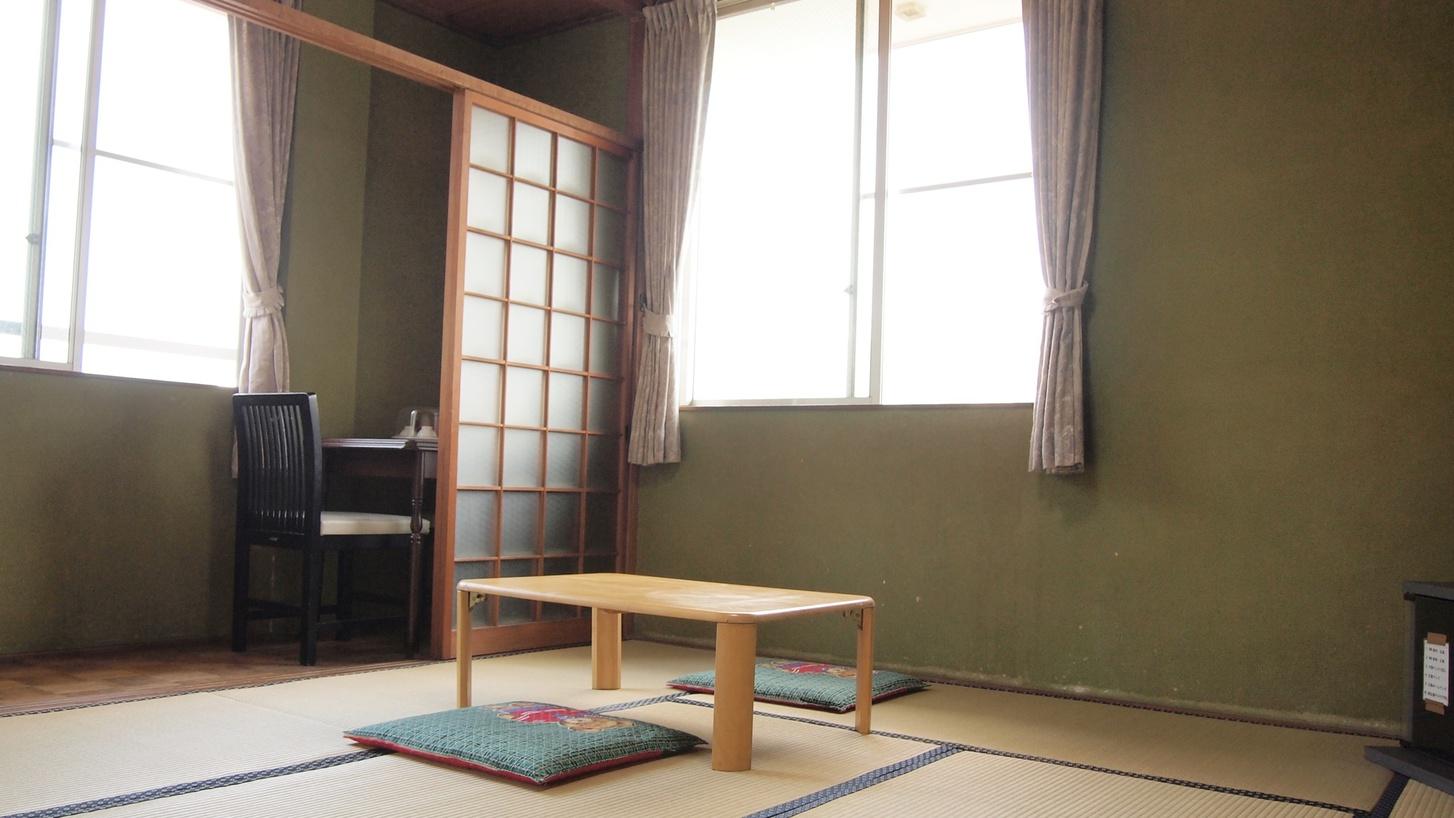 *【部屋】海側または山手側の和室客室をご用意します。