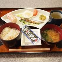 *【ご朝食】旅館定番の和定食を食堂にてご用意します