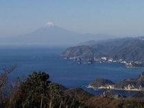 松崎・雲見からの富士