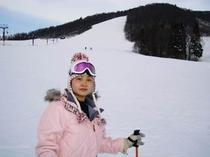 戸隠スキー場中社ゲレンデ