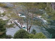 瀞峡のウォータージェット船