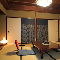 Traditional japanese style 8tatami Garden room,Rooms without a bathroom and washroom