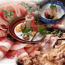 京冬の旬「牡丹鍋」