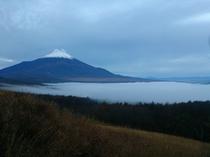 <富士山>