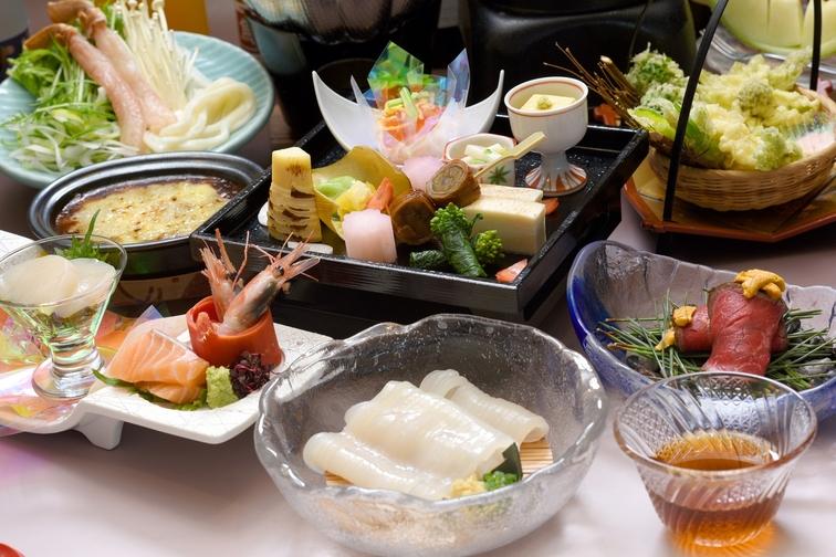 旬の料理をお楽しみください(*^。^*)旬の味覚美食会席プラン!【こだわりの旬の味覚】