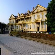 元町を見下ろす歴史的建造物【旧函館区公会堂】当館より市電で約30分♪