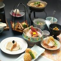 旬の食材を使った和食膳【レストラン食イメージ】
