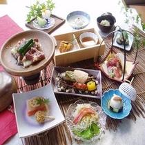 季節毎の旬の食材を使った和食膳【お部屋食プランイメージ】