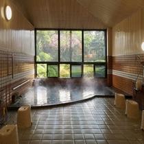 【源泉かけ流し♪】大浴場