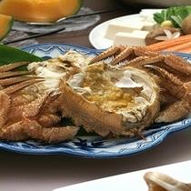 北海道ならではの新鮮な蟹【毛蟹イメージ】