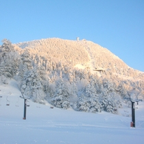 *横手山の冬