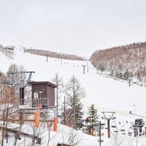 **【一の瀬ダイヤモンドスキー場】ファミリーにうれしい施設が充実!キッズパークにレンタルそりあり。