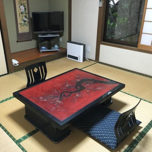 和洋室(8畳+洋間4.5畳) 露天風呂付き(一例)
