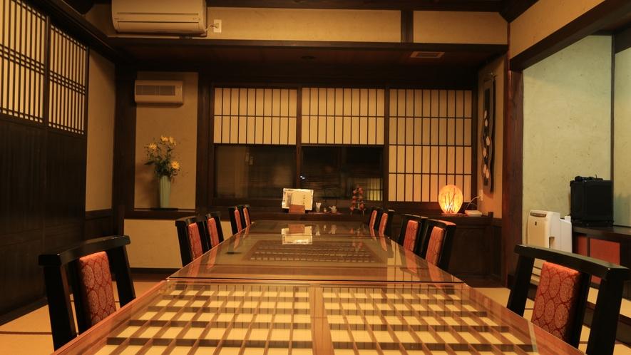 大人数でも個室スペースいてお食事をお楽しみ頂けます