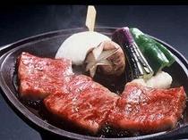 チョイス一例 『壱岐牛の陶板焼き』