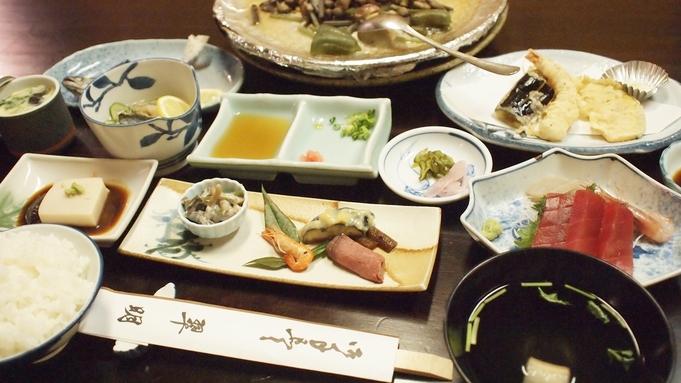 絶景!貸切野天風呂と名物「仙人焼料理」を愉しむ
