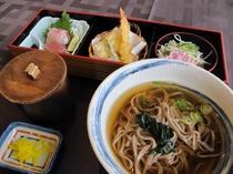 うだつ御膳 (蕎麦:温 or 冷)
