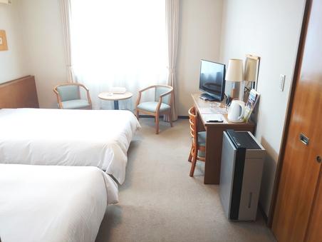 【喫煙】ツインルーム 全室空気清浄器設置(ジアイーノ)