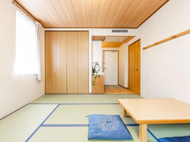喫煙 和室三人部屋 空気清浄器設置(ジアイーノ)