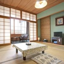 *【客室一例】趣のある数奇屋木造で、客室によりそれぞれタイプが異なります。