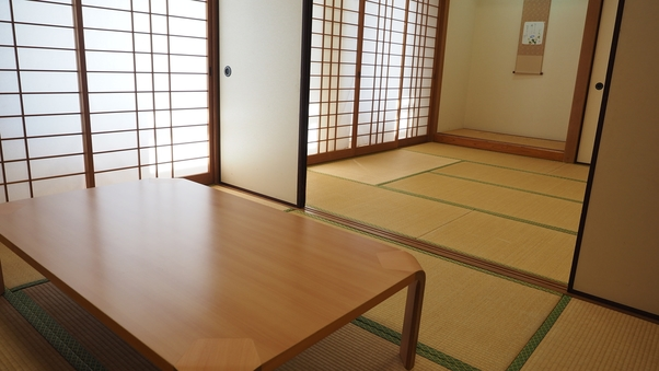 和室でゆったり(バス・トイレ付)【6畳2間】