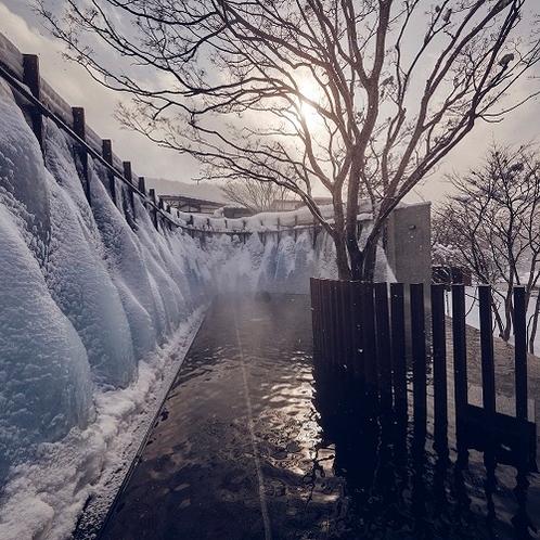 氷瀑の湯(昼)