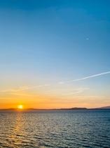 小浜温泉No1の絶景♪♪お部屋は全室が海側オーシャンビューです♪♪お部屋から眺める夕日が最高♪