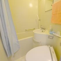 【ユニットバス】洗浄付きトイレ