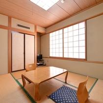 *和室6畳(トイレ付)/一人旅や湯治の旅にオススメ!心なごむ純和風のお部屋。