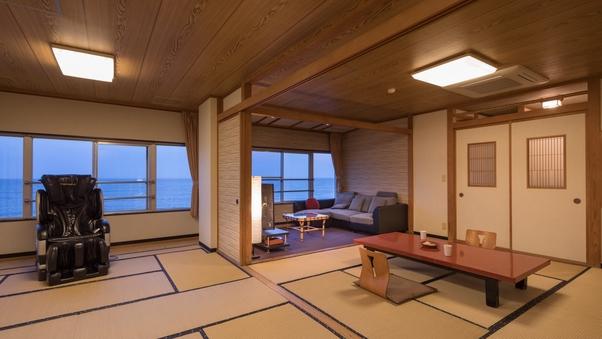 【和室二間】太平洋一望の海側客室