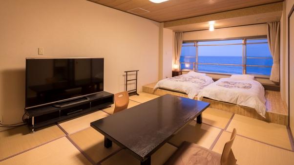 【禁煙】【和室一間・ツイン】太平洋一望の海側客室