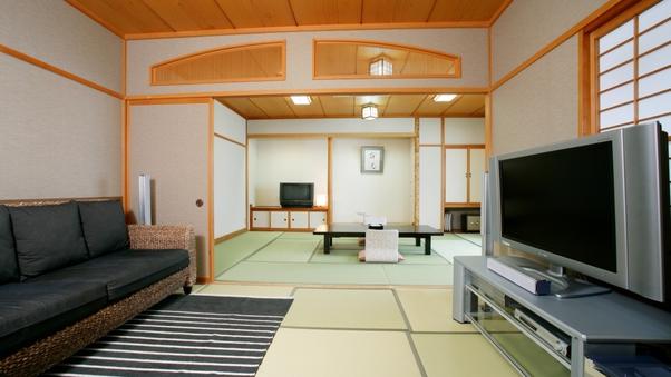 オーシャンビュー風呂付【ひまわり・和室12畳+6畳】