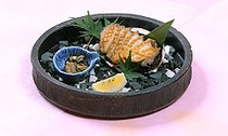 【別注料理】アワビのステーキ 5,250円(税込)〜
