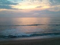 フロントロビーからの海♪