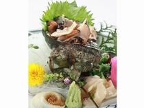 【別注料理】サザエのお刺身1,260円