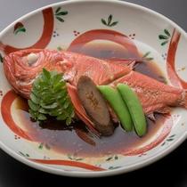 別注料理 金目鯛の煮つけ
